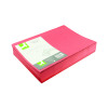 Q-Connect Assorted Square Cut Folders Lightweight 180gsm Foolscap (Pack 100) KF01491