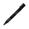 Q-Connect Black Premium Bullet Tip Permanent Marker Pen (Pack of 10) KF26105