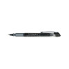 Q-Connect Rollerball Pen Liquid Ink 0.5mm Line Black (Pack of 10) KF50139
