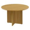 Jemini 1200mm Round Meeting Table Oak KF71953