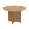 Arista Oak 1100mm Round Meeting Table KF72049