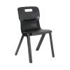 Titan Charcoal Size 4 One Piece School Chair KF72167