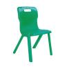 Titan Green Size 5 One Piece School Chair KF72171