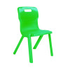 Titan Green Size 6 One Piece School Chair KF72176