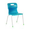 Titan Blue Size 4 School Chair With 4 Legs KF72185