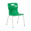 Titan Green Size 4 School Chair With 4 Legs KF72186