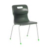Titan Charcoal Size 5 School Chair With 4 Legs KF72192