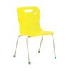 Titan Yellow Size 5 School Chair With 4 Legs KF72193