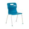 Titan Blue Size 6 School Chair With 4 Legs KF72195