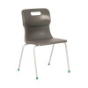 Titan Charcoal Size 6 School Chair With 4 Legs KF72197