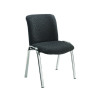 Avior Executive Leather Look Side Black Chair KF72262
