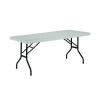 Jemini White 1520mm Folding Rectangular Table KF72329