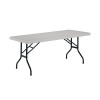 Jemini 1830mm Folding Rectangular Table White KF72330