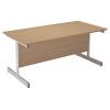 FF Arista 1200mm Cantilever Table Oak KF72356