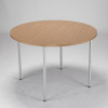 Jemini Circular Table 1200mm Oak KF72386