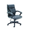 Arista Pace Leather Chair Black KF73636
