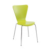 Arista Green Bistro Chair (Stackable with metal frames) KF74192
