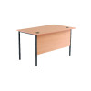 Jemini Beech 1228mm Single Desk KF78932