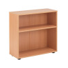 Jemini 18 Beech 720mm Desk Bookcase KF78964