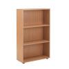 Jemini 18 Oak 1236mm Open Bookcase KF78967