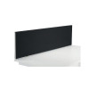 Jemini Black 1200mm Straight Mounted Desk Screen KF78998