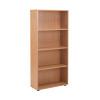 Jemini 18 Oak 1620mm Open Bookcase KF79018