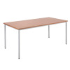 Jemini Beech Multipurpose Rectangular Table W1200mm KF79021