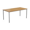 Jemini Oak Multipurpose Rectangular Table W1600mm KF79025