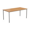 Jemini Beech Multipurpose Rectangular Table W1800mm KF79027