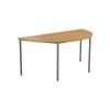 Jemini Oak Semi Circular Table W1600mm KF79031