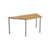 Jemini Oak 1600mm Trapeze Table KF79035