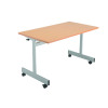 Jemini 1200mm Flip Top Table Maple KF838321