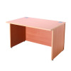 Jemini Intro Bavarian Beech 1200mm Reception Desk KF838350