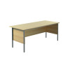 Jemini Intro 4 Leg Desk 1800mm Ferrera Oak KF838789