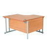 Arista 1200mm RH Cantilever Radial Desk Beech KF839274