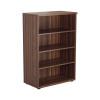 Jemini Grey Oak 1200mm 1 Shelf Bookcase (Dimensions: W800 x D450 x H1200mm) KF840137