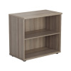 Jemini Grey Oak 730mm 1 Shelf Bookcase (Dimensions: W800 x D450 x H730mm) KF840146