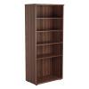 Jemini Walnut 1800mm 4 Shelf Bookcase KF840147