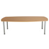 Jemini Oak 1800mm Boardroom Table KF840179
