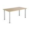 Jemini Maple 1600x800mm Rectangular Meeting Table KF840181