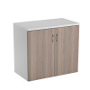 Jemini White/Grey Oak 730mm Switch Cupboard KF840205