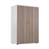 Jemini White/Grey Oak 1200mm Switch Cupboard KF840206