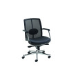 Avior Black Executive Mesh Back Task Chair KF97083