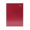 Desk Diary A5 Day Per Page 2020 Burgundy KFA51BG20