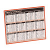 Year to View Calendar 257x210mm 2019 KFYC119