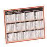 Year to View Calendar 257 x 210mm 2020 KFYC120