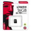 Kingston Canvas Select microSDHC 16GB (Class 10 UHS-I speeds of up to 80MB/s) SDCS/16GB