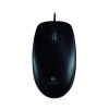 Logitech B100 Optical Mouse USB Black 910-001246