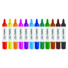Panda Jumbo Marker Assorted (Pack of 12) 6190/12