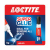 Loctite Super Glue Glass 3g (Dries in seconds to transparent finish) 1628817